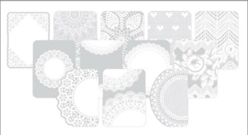 Project Life DOILIES PHOTO OVERLAYS 12-PACK scrapbooking 380489