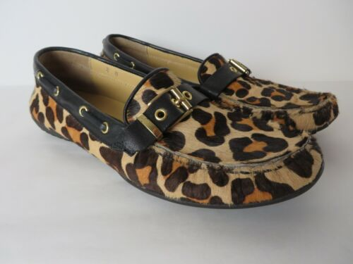 Vaneli YB-003 Cheetah Animal Print Shoes Women's 8