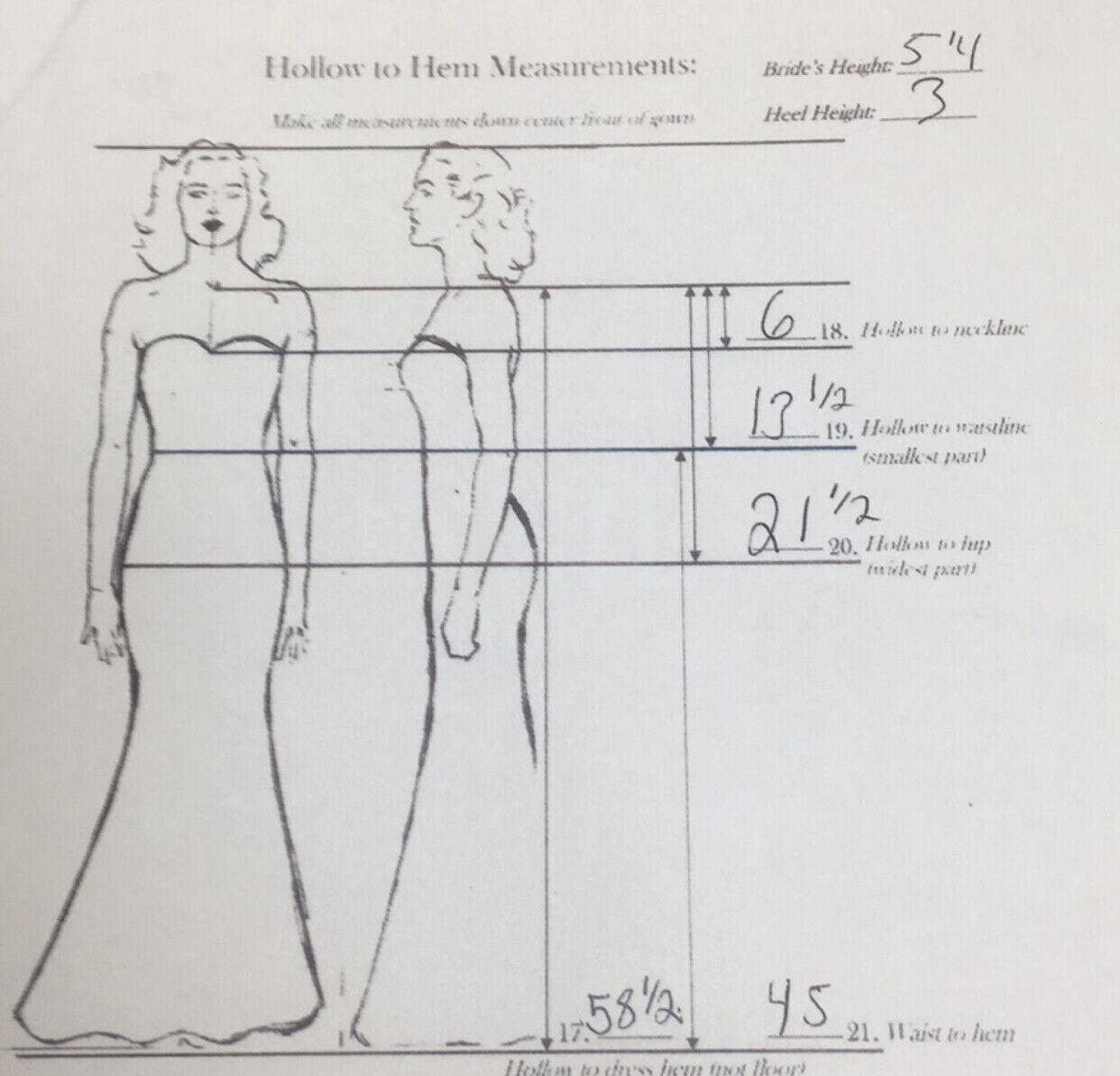 Winnie Couture Janine 8437 Wedding Dress - image 8