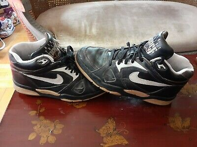 divorcio Inclinado Poderoso  90's Vintage Nike Men Air Strike Force Mid Cut .Preowned.size US 8. | eBay