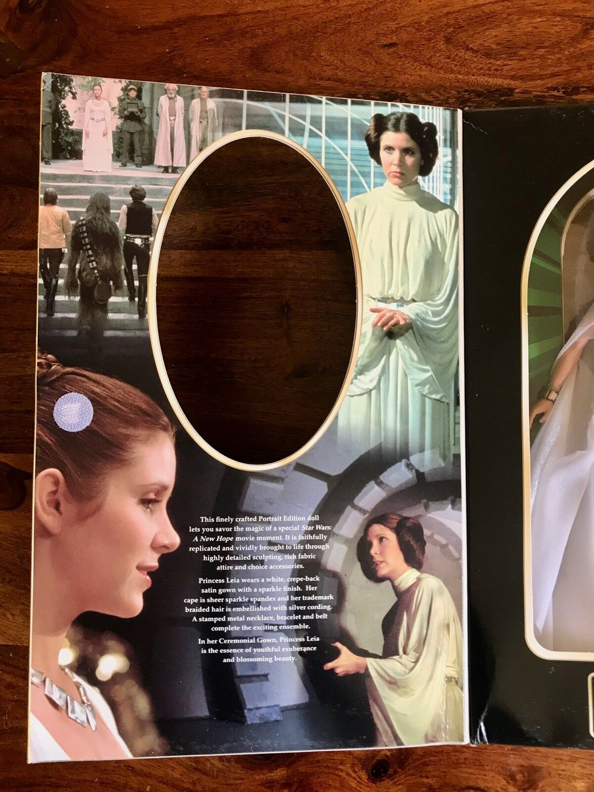 Hasbro Star Wars Princess Leia In Ceremonial Gown 1999 1999 1999 Portrait Edition Figure b719b5