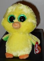 Ty Beanie Boos Nugget The Chick 6 Easter Exclusive In Hand