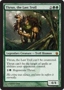 1x-Thrun-the-Last-Troll-Foil-NM-Mint-English-Mirrodin-Besieged-MTG-Magic