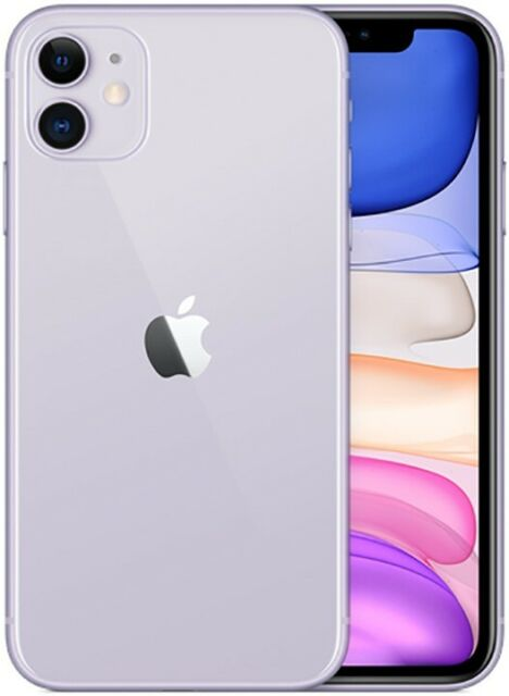 Apple IPHONE 11 128GB Italia Purple LTE Neuf Original Smartphone Ios 13
