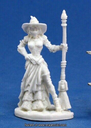 1 x dita steampunk witch-bones reaper figurine miniature rpg chronoscope 80006
