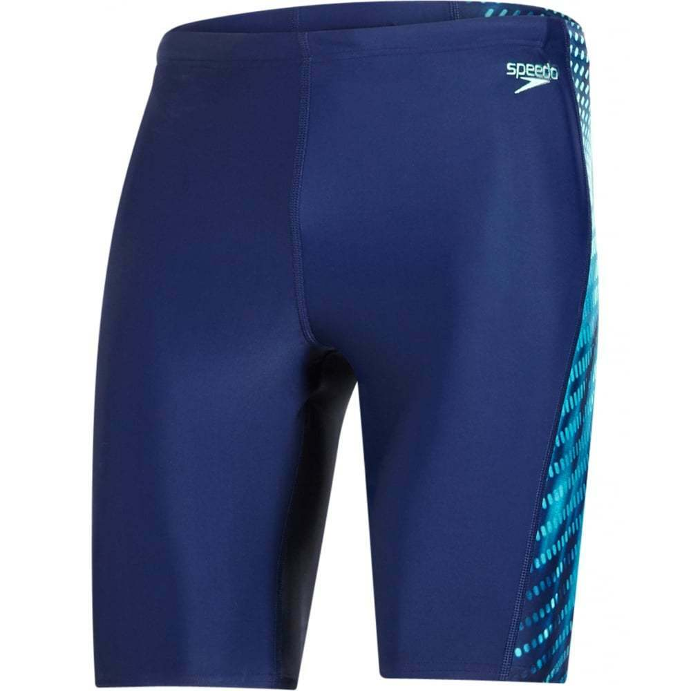 Speedo Placement Curve Panel Endurance10 Men's Jammer, Navy
