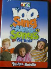 DVD 100 Sing Along Songs for Kids Yankee Doodle Cedarmont Kids Presents NEW