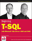 Beginning T-SQL with Microsoft SQL Server 2005 and 2008 by Dan Wood, Paul Turley (Paperback, 2008)