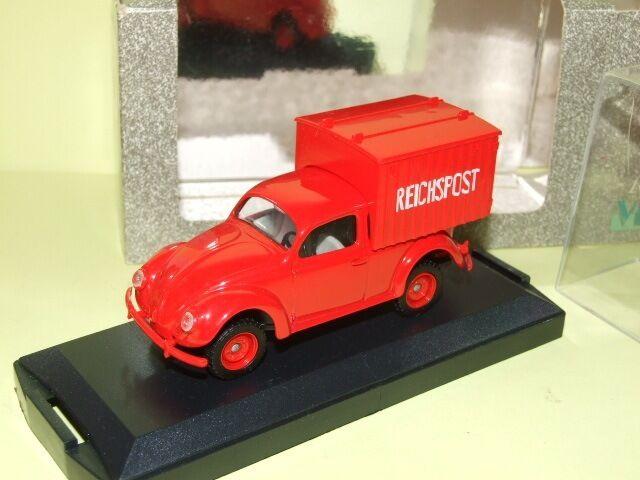 VW COCCINELLE LIEFERWAGEN LIEFERWAGEN LIEFERWAGEN TYP 83 POSTE ALLEMANDE 1945 VITESSE 051A bbb17c