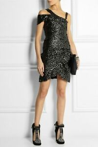 NWT-875-ISABEL-MARNET-Sequins-dress-36-XS
