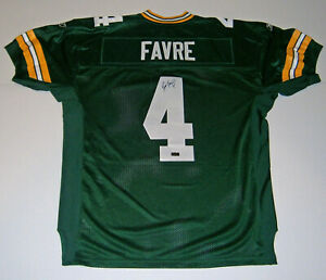 PACKERS-Brett-Favre-signed-On-Field-green-jersey-w-4-JSA-COA-AUTO-Autographed