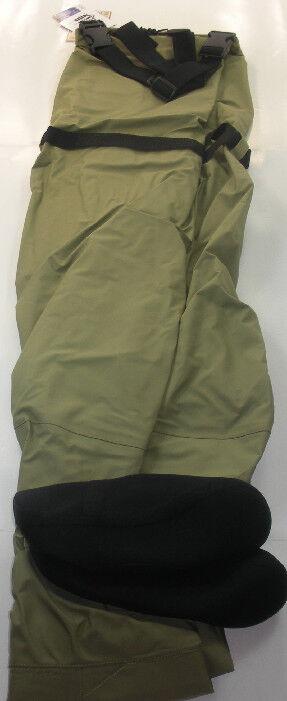 Proline 4802-L Respirable media del pie en el Pecho Wader tamaño grande 16051