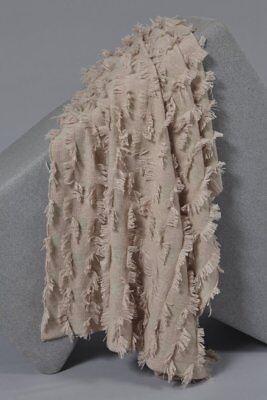 180x120cm Nuovo Con Etichetta Seren Oyuna Cashmere Pesante 100% Cashmere Blush Buttare/coperta- Brividi E Dolori