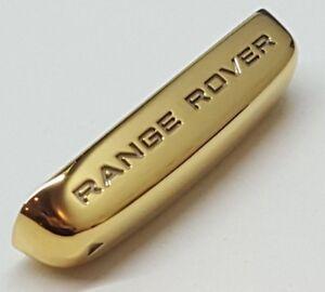 Bootsteile Sonstige Bootsport-Teile & Zubehör 24ct Vergoldet Range Rover Land Evoque Sport Schlüsselanhänger Endkappe Rand