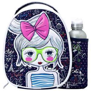 Smash Fashionista Lunch Bag/Box and 500ml Bottle Set | Lunchboxes for Girls