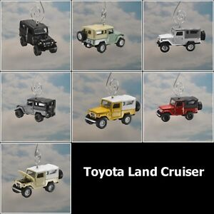 Details about 1980 Toyota Land Cruiser FJ45 w/ Soft Top Custom Christmas  Ornament Jeep Rover