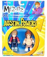 Mez-itz Austin Powers Goldmember Pimp Austin Powers Fat Bastard Man Figure Set
