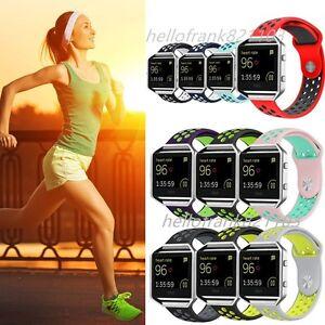 RICAMBIO-in-silicone-banda-Sport-Fitness-Bracciale-Cinturino-per-Fitbit-Blaze-Tracker