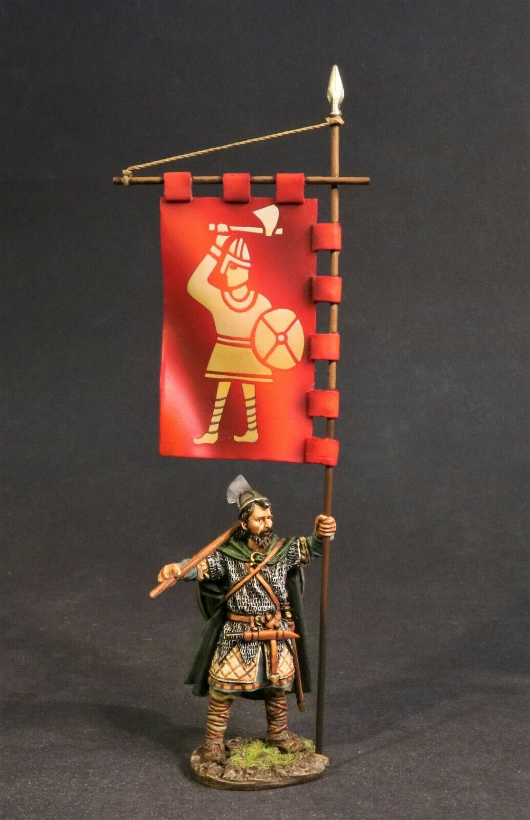 John Jenkins Wikinger & Sachsen SX-04 Anglo Sächsisch Huscarl mit King Harold