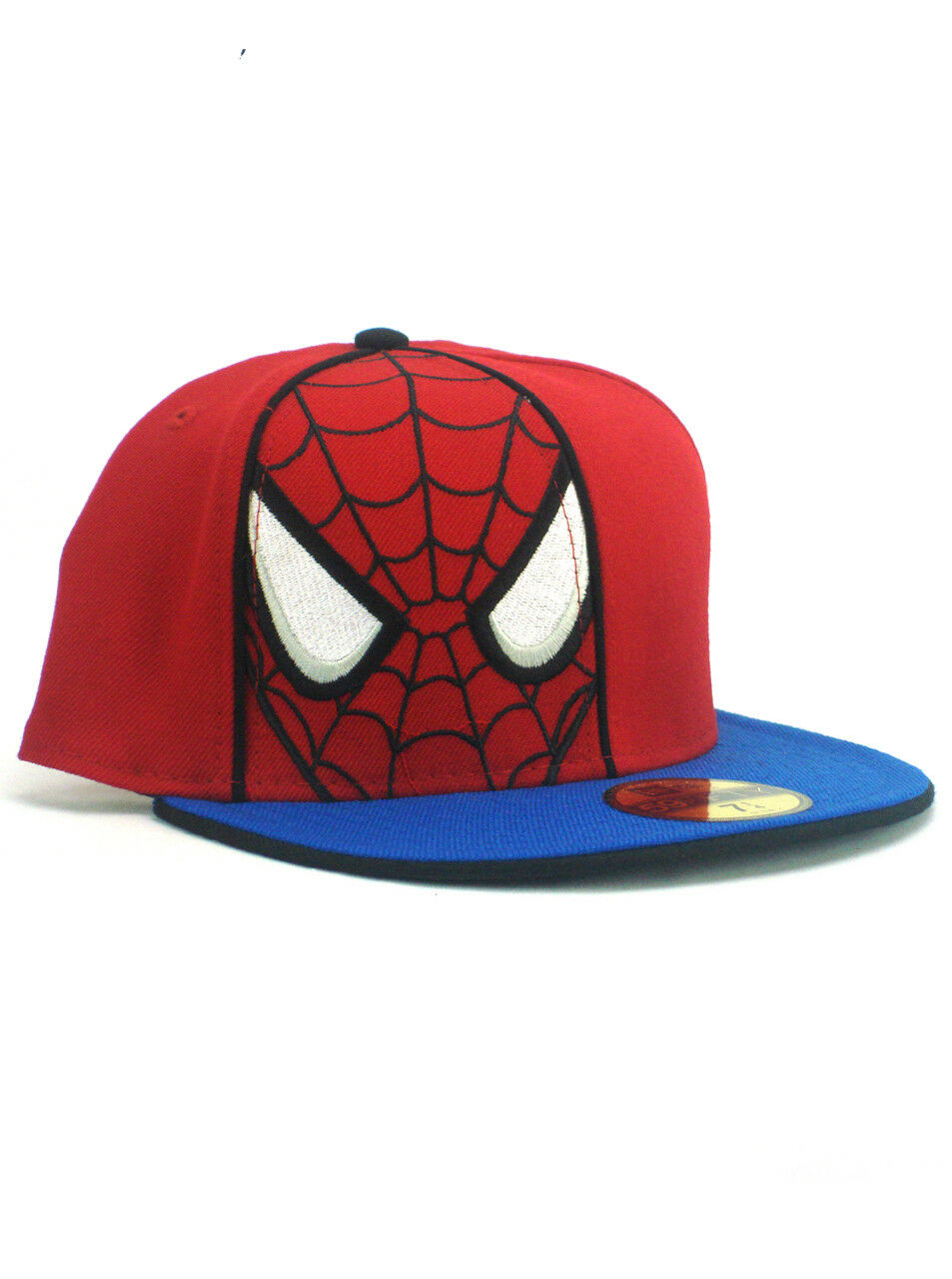 New Fitted Era Spider-Man 59fifty Custom Fitted New Hat Size 7 1/4 Marvel Wall Crawler Red 82152d