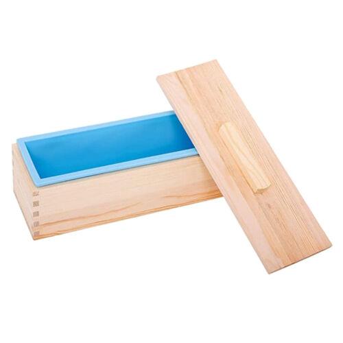 Rechteck Seife Silikonform Holzkiste Für Seifenherstellung Liefert 3 Stück