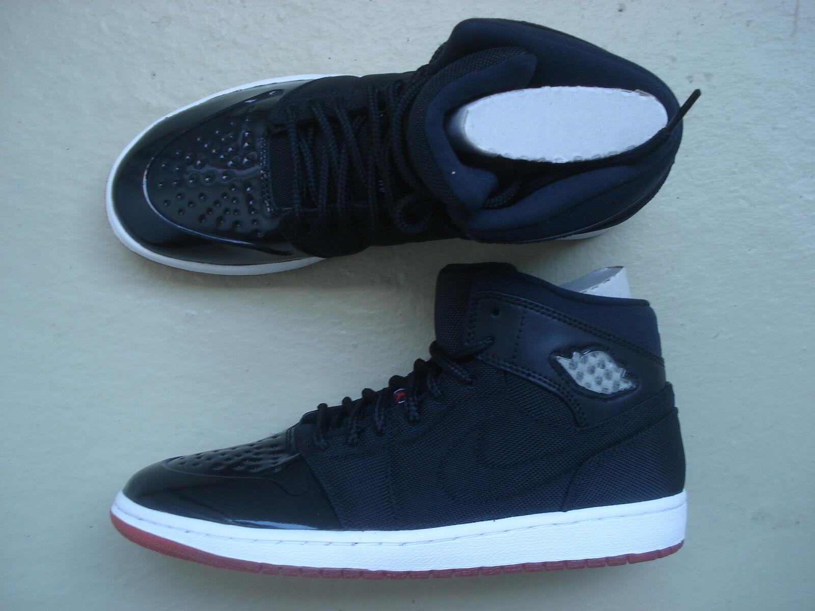 Nike Air 44.5 Jordan 1/i retro'95 TXT 44.5 Air bred Negro/True redBlanco 47d5a1