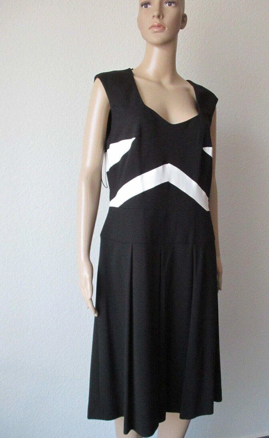 6d2ab708458e7 Laurel Kleid Jersey, schwarz Größe 40 weiß, aus nwzvwm5660-neue Kleidung