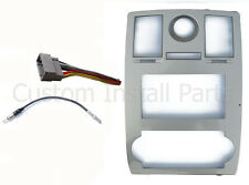 Chrysler 300 Factory Navigation Aftermarket 2Din Radio Dash Kit Wiring Adapter