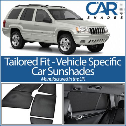 Jeep Cherokee 5dr 2002-2007 UV CAR SHADES WINDOW SUN BLINDS PRIVACY GLASS TINT