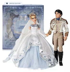 Cinderella And Prince Charming Limited Edition Wedding Doll Set 70th Anniversary Ebay