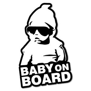 Graphics Decals Responsible Baby On Board Safety Decals Sticker Cars Window