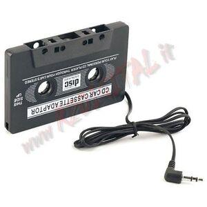 ADATTATORE-AUTO-PER-CASSETTE-AUDIO-JACK-CUFFIE-3-5mm-MP3-CD-DVD-MP4-IPOD-USB