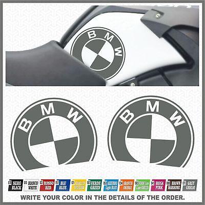 2x Bmw R1200 Gs Adventure 08-13 Grey Adesivi Pegatina Stickers Autocollant Alta Sicurezza