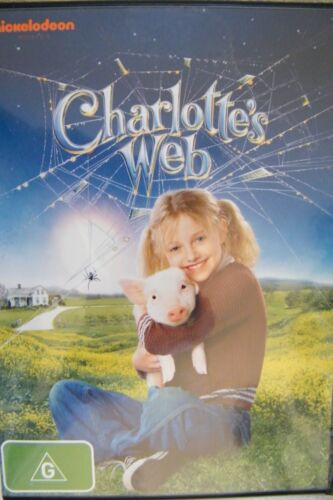 1 of 1 - DVD Charlotte's Web Julia Roberts Dakota Fanning Region 4