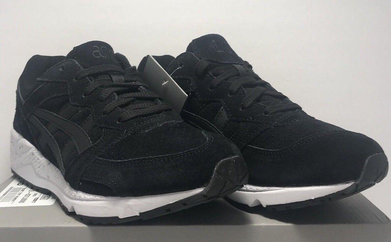 Asics Tiger Mens Size 7.5 GEL-LIQUE Black Velvet Athletic Running Sneaker shoes