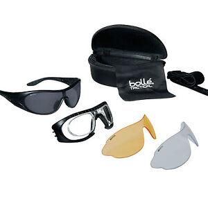 f975d61db453ba Lunettes masque Balistiques Bollé Tactical RAIDER Kit Armée Tir ...