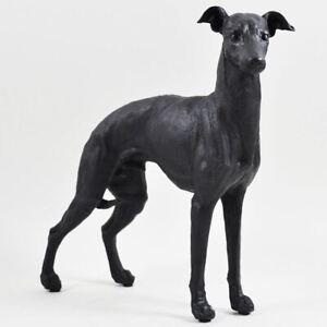 Bronze Effect Greyhound Statue Dog Sculpture Pet Gift Ornament