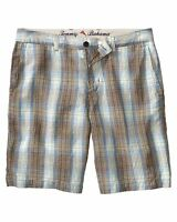 $98 - Tommy Bahama Men's 'pucca Plaid' Beryl Casual Shorts - 40
