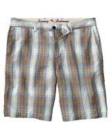 $98 - Tommy Bahama Men's 'pucca Plaid' Beryl Casual Shorts - 40