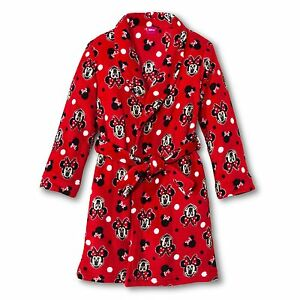 Disneys Minnie Mouse Button Front Pajamas for girls 6//6X