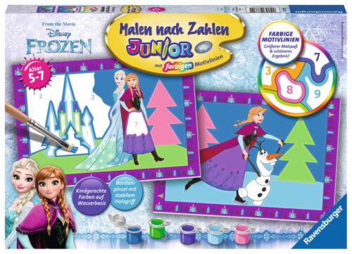 Ravensburger Malen nach Zahlen Serie Junior Disney Frozen Eiskönigin 27771
