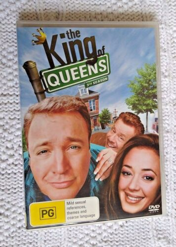 1 of 1 - The King of Queens : Season 3 (DVD, 4-Disc Set) R-4, LIKE NEW FREE POST AUS-WIDE