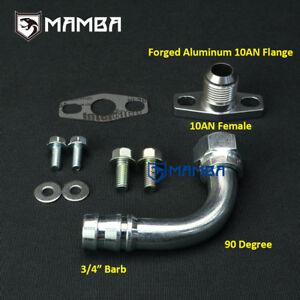 90-Deg-3-4-034-Turbo-Oil-Return-Barb-Fitting-Kit-HKS-GT2835-GT2835R-GT3037-GT3037R