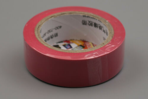 1Pcs 3M 1500 Red Vinyl Electrical Tape Insulation Adhesive Tape