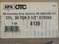 Otc 4139 Model C 30 Ton Spring Return Hollow Center Hydraulic Ram