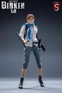SWtoys-1-6-Sherry-Birkin-Resident-Evil-FS017-Sydney-Platinum-Model-Action-Figure