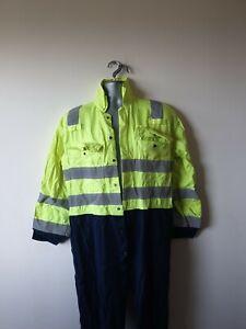 Hi-Vis-de-soldadura-PPE-ignifugo-Monos-Caldera-Traje-M-40R-40-034-pecho-571