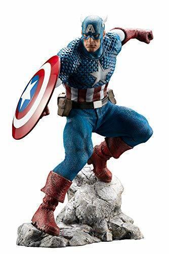 ARTFX PREMIER Marvel Universe  CAPTAIN AMERICA 1 10 PVC Figure KOTOBUKIYA nouveau  réduction en ligne
