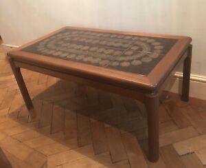 Nathan Teak Coffee Table Original Tiled 1970's RETRO Mid ...