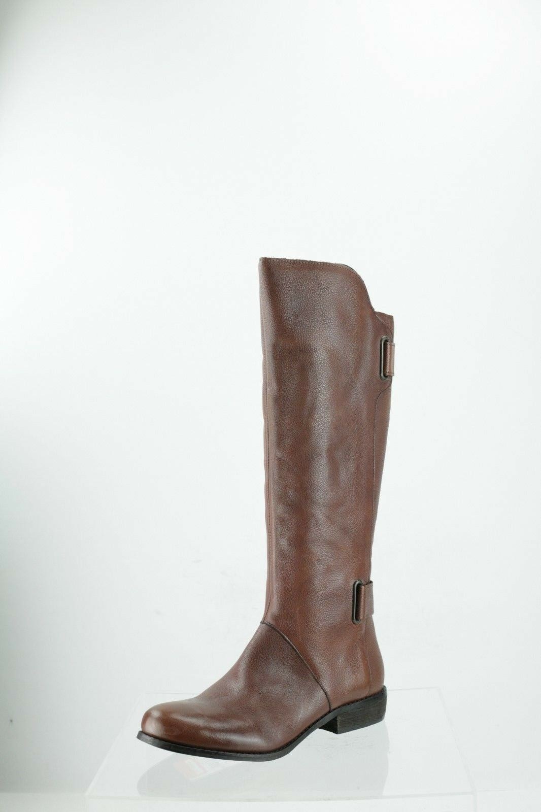 Ciao Bella Brooklyn Brown Leather Knee High Boots Women's Shoes Size 6 M NEW